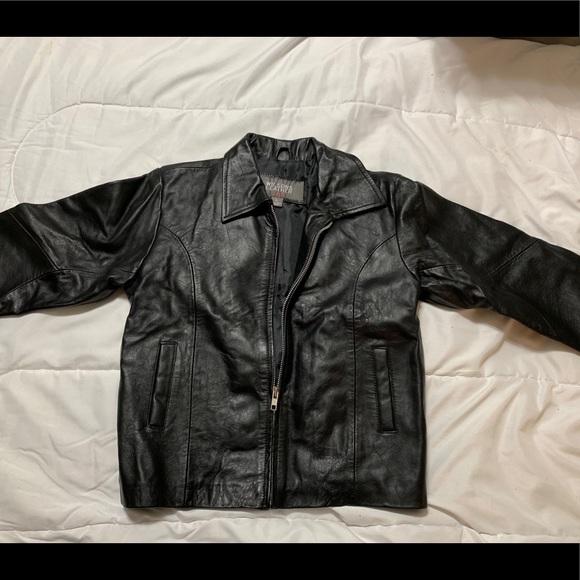 Wilsons Leather Jackets & Blazers - Wilson's Leather Kids Black Leather